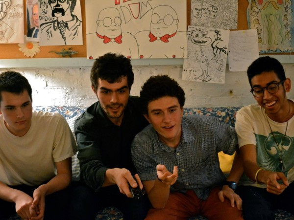 (from left to right) Robby Jenkins, Laszlo Horvath, Charlie Schine, Chris Rivera